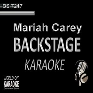 Mariah Carey – Karaoke Playbacks – BS 7217 - CD-Cover-Front