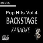 Pop Hits Vol. 4 – Backstage Karaoke Playbacks – BS 3617 - Karaoke Rarität