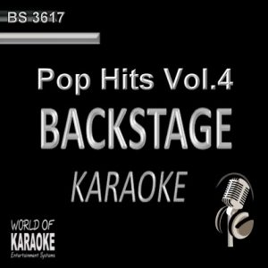 Pop Hits Vol. 4 – Karaoke Playbacks – BS 3617 - CD-Front