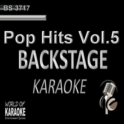 Pop Hits Vol.5 – Karaoke Playbacks – BS 3717 - CD-Front -