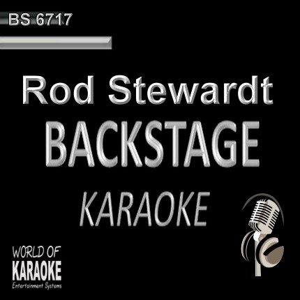Rod Stewart - Pop Karaoke Songs - CD G BS6717 - CD-Front-Ansicht -