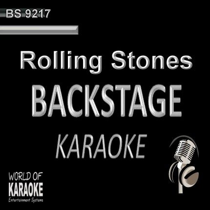 Rolling Stones – Karaoke Playbacks BS 9217 - CD-Cover