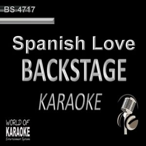 Spanish Love Songs – Karaoke Playbacks – BS 4717