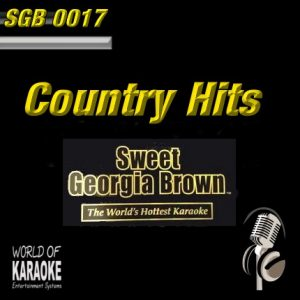 Album-Front-Sweet Georgia Brown – SGB0017 – Country Hits – Karaoke Playbacks