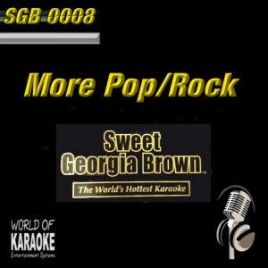 Sweet Georgia Brown - SGB0008 – More Pop und Rock-Hits – Karaoke Playbacks - Album Front