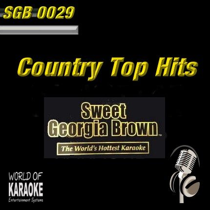 Sweet Georgia Brown - SGB0029 - Top-Country-Hits - Frontansicht