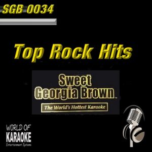 Sweet Georgia Brown - SGB0034 – Standards – Karaoke Playbacks - CD-Frontansicht
