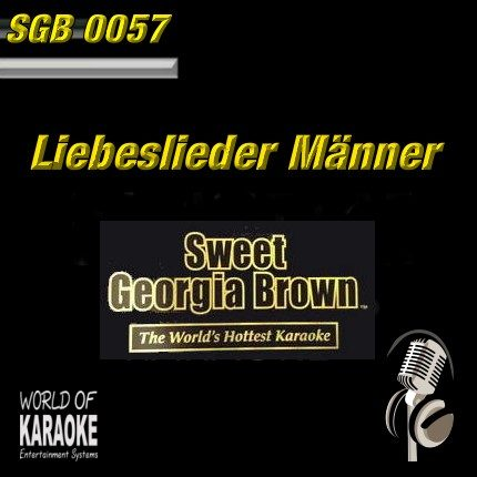 Sweet Georgia Brown - SGB0057 – Top 40 und MEHR Hits – Karaoke Playbacks - Album-Front-