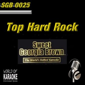 Swett Georgia SDB0025 – Top Hard Rock – Karaoke Playbacks - Front-Bild -