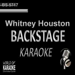 Whitney Houston – Karaoke Playbacks – BS 5717 - Cover der CD