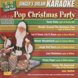 Pop Christmas Party – SDK 9054 – Karaoke Playbacks - AlbumCover