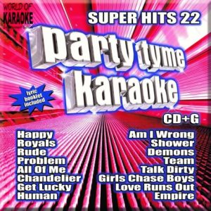 Party-Time Karaoke - Super Hits 22 - Cover
