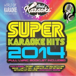 Super Karaoke-Hits 2014 - CD-Front